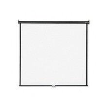Wall or Ceiling Projection Screen, 70x70, Matte White