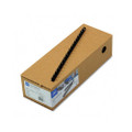 "CombBind Spines, 3/8"" 55-Sheet Capacity, Black, 100 per Box"