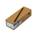 "CombBind Spines, 3/8"" 55-Sheet Capacity, Navy Blue, 100 per Box"