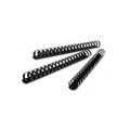 "CombBind Spines, 2"" 425-Sheet Capacity, Black, 50 per Box"