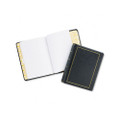 Looseleaf Minute Book, BLK Leather-Like Cover, 125 Pgs, 8-1/2 x 11