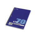 Spiral Bound Notebook, College Rule, 8 x 10-1/2, White, 70 Sheets/pad