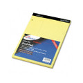 Evidence Dual Ruled Pad, Law Rule, 8-1/2 x 11-3/4, Canary, 100 Sheets