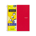Five Star Wirebound Notebook, College Rule, Letter, White, 100 Sheets/Pad