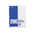 Economical 16-lb. Filler Paper, Wide Ruled, 10-1/2 x 8, 200 Sheets/pack