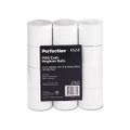 "Two-Ply Calculator Receipt Paper Rolls, 2-1/4""w, 90`l, White, 12/pk"