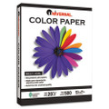 Colored Paper, 20lb, 8-1/2 x 11, Ivory, 500 Sheets/Ream
