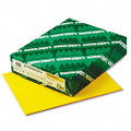 Astrobrights Colored Paper, 24lb, 8-1/2 x 11, Solar Yellow, 500 Sheets/Ream