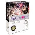 Fireworx Colored Paper, 20lb, 8-1/2 x 11, Crackling Canary, 500 Sheets/Ream