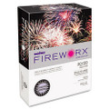 Fireworx Colored Paper, 20lb, 8-1/2 x 11, Luminous Lavender, 500 Sheets/Ream