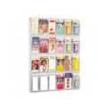 Reveal Pamphlet Display Rack, 24 Pockets, 30w x 41h