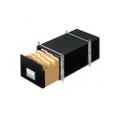 StaxOnSteel Storage Drawer, Letter, Steel Frame, 14 x 25-1/2 x 11-1/8, BLK 6/Ct