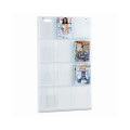 Reveal Magazine Display Rack, 12 Pockets, 30w x 2d x 49h