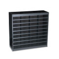 E-Z Stor Steel Literature Center, Letter, 36 Compartments, 36-1/2h, Black
