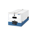 Liberty Max Strength Storage Box, Ltr, 12-1/4 x 24-1/8 x 10-3/4, WE/Blue