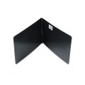 Presstex Report Cover, Reinforced Hinges, 8-1/2 x 14, 2-3/4 C to C, Black