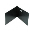 Pressboard Report Cover, Reinforced Hinges, 11 x 17, 8-1/2 C to C, Black