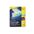 Clean Edge Ink Jet Business Cards, 2 x 3-1/2, White, 400/box