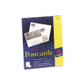 Laser Postcards, 4 x 6, 2 Cards/Sheet, 100 Cards/box, White
