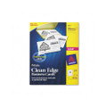 Clean Edge Laser Business Cards, 2 x 3-1/2, White, 200 Cards per pack