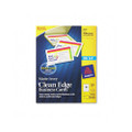 Clean Edge Ink Jet Business Cards, 2 x 3-1/2, Ivory, 200/pk