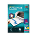 Direct Print Unpunched Dividers, 8-Tab, Lsr/IJ, Letter, WE, 4 Set/pack