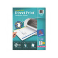 Direct Print Unpunched Dividers, 5-Tab, Lsr/IJ, Letter, WE, 4 Set/pack