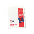Avery-Style Legal Side Tab Dividers, 26-Tab, 51-75, Letter, WE, 26/set