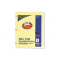 Worksaver Big Tb Dvdrs w/CPR Holes, Clear Tbs, 5-Tab, Letter, BF, 5/set
