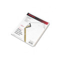 Gold Pro Tab Index, Clear 8-Tab, 8-1/2 x 11, White