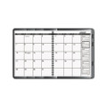 Complete PlannerFolio with Large Monthly Planner, 9 x 11, Black