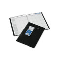 Monthly Planner, Ruled, 7-7/8 x 11-7/8, Black