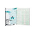 Accounting Pad/Four 8-Unit Columns, Two-sided, Letter, 50-Sheet Pad
