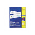 White Laser/Ink Jet Tent Cards, 3-1/2 x 11, 1 Card/Sheet, 50 Cards per Box