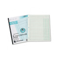 Accounting Pad/Two 8-Unit Columns, 8-1/2 x 11, 50-Sheet Pad