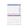 Wirebound Desk/Wall Monthly Calendar, 11 x 8-1/2