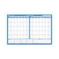30/60-Day Format Reversible/Erasable Undated Wall Planner, 36 x 24