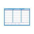90/120-Day Format Reversible/Erasable Undated Wall Planner, 36 x 24