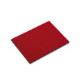 Magnetic Write-On/Wipe-Off Pre-Cut Strips 7/8h x 6w, Red, 25/pack