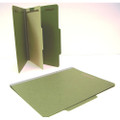 100% Recycled Classification Folders. Earth Friendly with 30% PCW