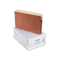 3in Expansion File Pocket, Manila/Red Fiber, Legal, 25/box