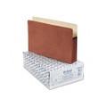 5in Expansion File Pocket, Manila/Red Fiber, Legal, 10/box