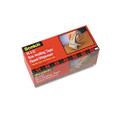 "Scotch Compact H122 Handheld Box Sealing Tape Dispenser, 3"" core, Plastic, Gray"