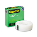 "Scotch Magic Office Tape, 3/4"" x 36 Yards, 1"" Core, Clear"