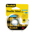 "Scotch 667 Double-Sided Removable Office Tape & Dispenser, 3/4"" x 11 Yards"