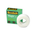 "Scotch Magic Office Tape, 3/4"" x 28 Yards, 1"" Core, Clear"