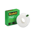 "Scotch Magic Office Tape, 1"" x 36 Yards, 1"" Core, Clear"