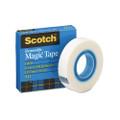 "Scotch Removable Tape, 1/2"" x 36 Yards, 1"" Core"