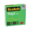 "Scotch Magic Office Tape, 1/2"" x 36 Yards, 1"" Core, Clear"