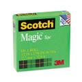 """Scotch Magic Office Tape, 1/2"""" x 36 Yards, 1"""" Core, Clear"""